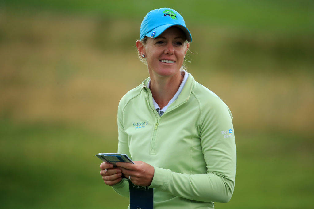 AIG Womens Open | Amy Olsons best ball-striking day